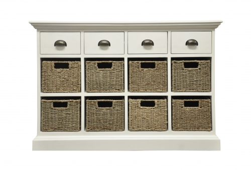 4 Drawer 8 Basket