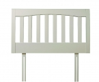 Edward headboard white